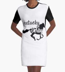 Kentucky Derby das beste Laufpferd T-Shirt Kleid