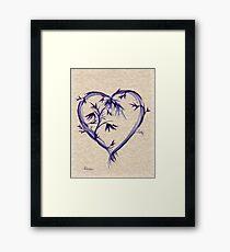Purple Heart #2 Framed Print
