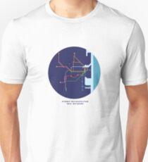 Sydney Metro Train Rail Network T-Shirt