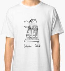 Salvador Dalek - black print version Classic T-Shirt