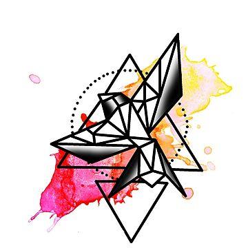 Geometric Bird by xRockbirdx