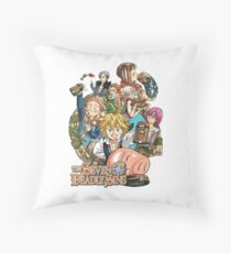 Nanatsu no Taizai Throw Pillow