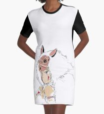 Mononoke Graphic T-Shirt Dress