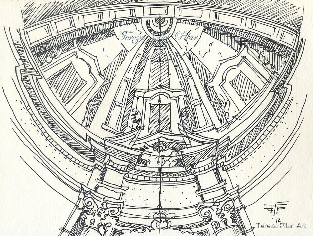 Convento de mafra. Mafra convent dome by terezadelpilar ~ art & architecture