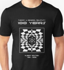Warped Space Version, 100 Year Anniversary of Einstein's Theory of General Relativity Unisex T-Shirt