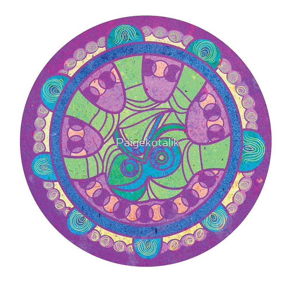 Hand Mandala 2 by Paigekotalik