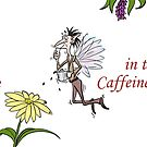 Caffeine Fairy on a mug by Crowden