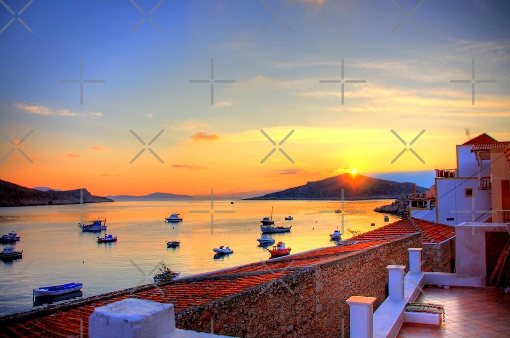 Halki Sunrise by Tom Gomez