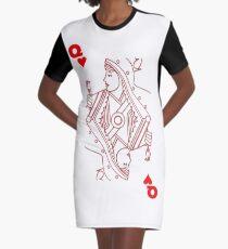 Herzkönigin T-Shirt Kleid