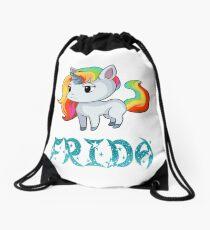 Frida Unicorn Sticker Turnbeutel