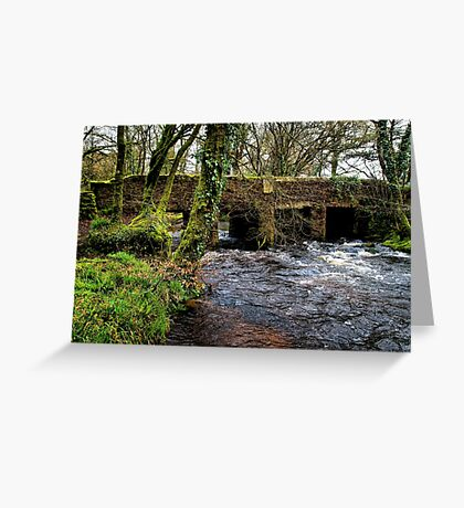 Fowey Bridge Greeting Card