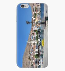 Halki Harbour Panorama iPhone Case