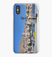Halki Harbour Panorama iPhone Case/Skin