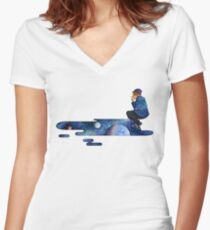 The Johnny Project Women's Fitted V-Neck T-Shirt