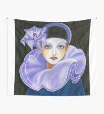 Purple Harlequin Wall Tapestry