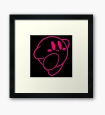Kirby outline Framed Print