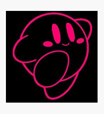 Kirby outline Photographic Print