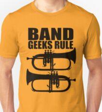 BAND GEEKS RULE-FLUGELHORN 2 Unisex T-Shirt