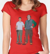Russell & Hugh - DMDC - Detectorists Women's Fitted Scoop T-Shirt