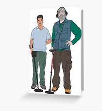 Russell & Hugh - DMDC - Detectorists Greeting Card