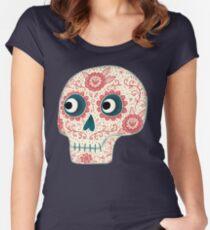 Dia de los Muertos Women's Fitted Scoop T-Shirt