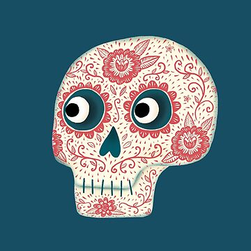 Mexican Dia de los Muertos Day of the Dead by squirrell