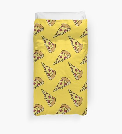 Pizza Party - Food Related Duvet Cover