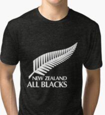 New Zealand All Blacks Tri-blend T-Shirt