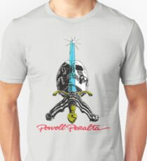 Powell Peralta Skull and Sword Unisex T-Shirt