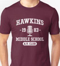 Hawkins Middle School A.V. Club - Stranger Things Unisex T-Shirt