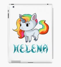Helena Unicorn Sticker iPad Case/Skin