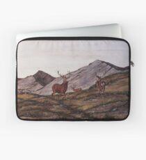 `Cabrach Stags' Red Deer in Scotland Laptop Sleeve