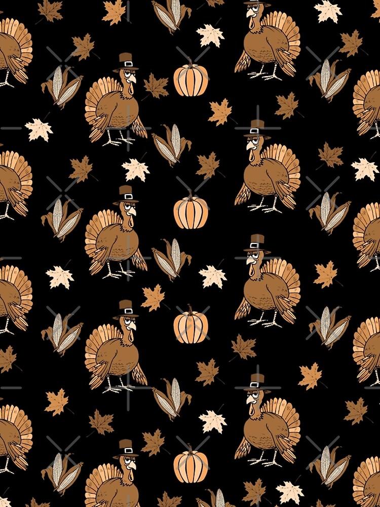 Thanksgiving Turkey pattern by ValentinaHramov