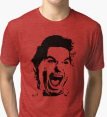 Jack Burton Scream Face Tri-blend T-Shirt