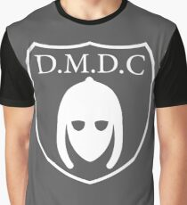 DMDC - Detectorists Logo - White Graphic T-Shirt