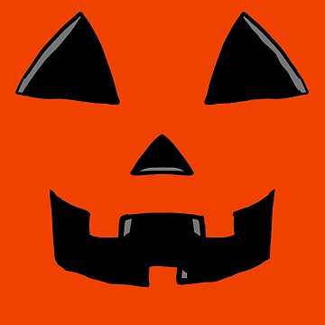Oct 24 Jackolantern Face  by Rajee