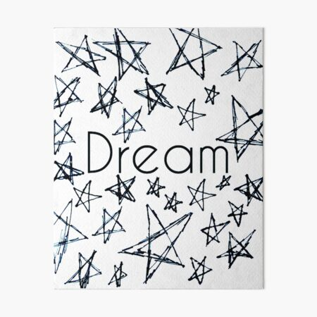 Dream Art Board Print
