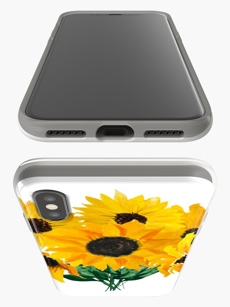 Alternate view of Painted sunflower bouquet iPhone Case & Cover