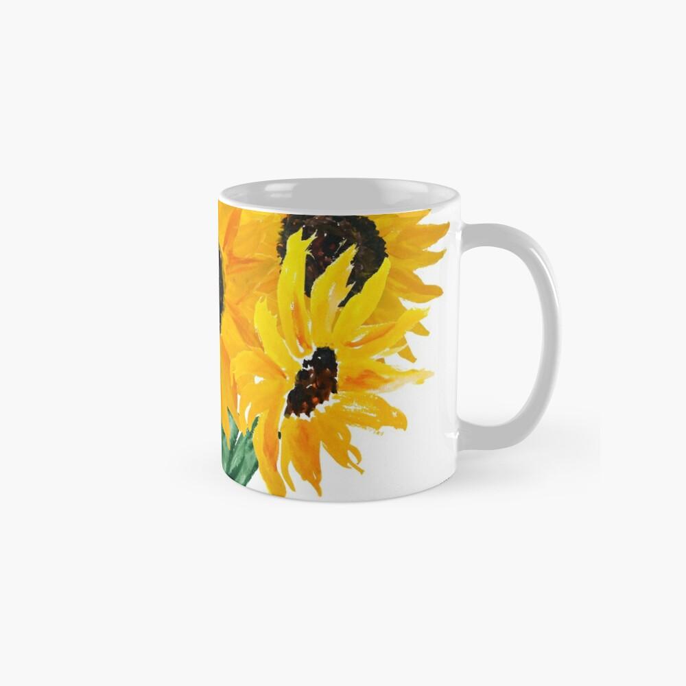 Painted sunflower bouquet Mug