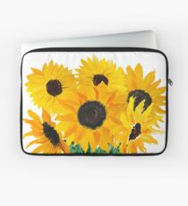Painted sunflower bouquet Laptop Sleeve