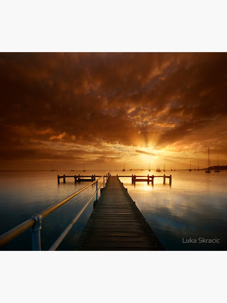 An Early Pier by LukaSkracic