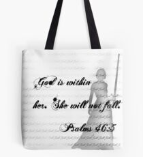 God is within her Tote Bag