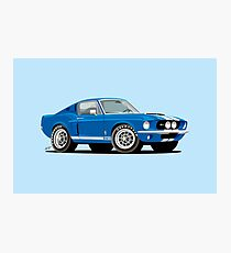 1967 · Ford Mustang Shelby GT500 Photographic Print