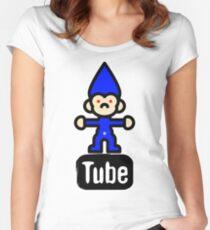 > Troll TUBE v1.0 < Women's Fitted Scoop T-Shirt