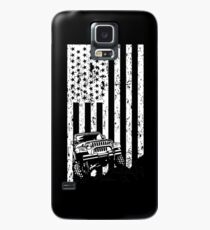 jeep american flag T-shirt, thrill their Jeeps Case/Skin for Samsung Galaxy