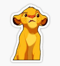 lion king Sticker