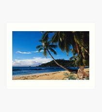 1008A-Tropical Queen Art Print