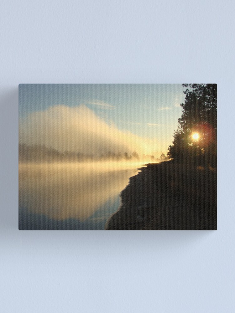 Alternate view of Earth's Eye Canvas Print