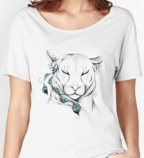 Poetic Cougar Women's Relaxed Fit T-Shirt