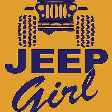 Jeep Girl Blue by SixtyOneDesign
